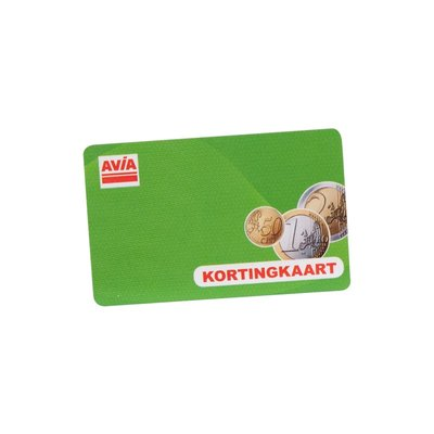AVIA Kortingskaart per 500 stuks te bestellen