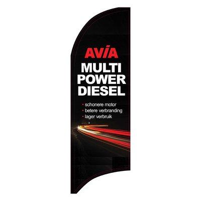 AVIA Beachvlag Multi power diesel