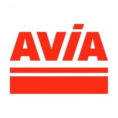 AVIA Logo sticker 10 x 5cm