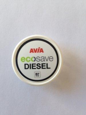 AVIA Nozzlesticker Eco Save Diesel (Nozzle-Cap)