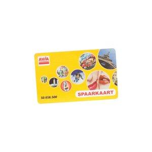 AVIA Spaarkaart per 500 stuks te bestellen art 1319