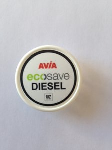 AVIA Nozzlesticker Eco Save Diesel B7 (Nozzle-Cap) art 1035