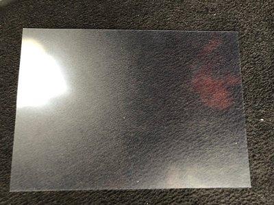 Anti Reflectie voorzetvellen A3  420x297x0,3mm tbv pomptoppers art 1107